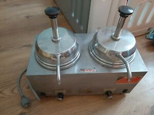 Server 81260 Twin FSP Topping Warmer  w/ Pumps