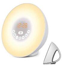 Mosche Sunrise Alarm Clock, Digital Clock, Wake Up Light with 6 Nature Sounds