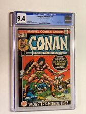 Conan the Barbarian 21 cgc 9.4 ow/w pages marvel bronze age