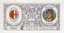 figurina - TUTTO CALCIO EURO MONETE  - MILAN KAKA'