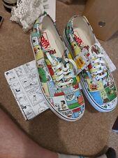 Vans X Peanuts Comics UK Size 10