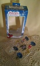 Rudolph Ornaments New Mini Island Misfit Toys Dolly King Moonracer Charlie Box.