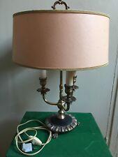Ancienne Lampe Bouillotte 3 Lumières Style Empire Luminaire
