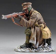 Thomas Gunn Ww1 British Gw035B Kneeling Firing Rifleman Winter Mib