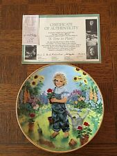 "Knowles China ""March of Dimes: Our Children Our Future"" Plates, New w/ Orig. Box"