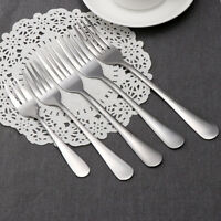1/5pcs Adult Child Kitchen Tools Meal Tableware Stainless Steel Lunch Fork