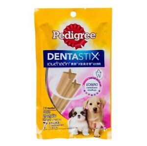 Pedigree Dentastix Puppy Chew Reduce Tartar + Build-up Dental Dog Treats 56g.