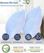 🥇Cooling Memory Foam Pillow Ventilated Soft Bed Pillow Infused with Cooling Gel