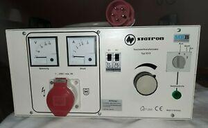 Regeltrenntrafo Statron Regel-Trenn-Transformator TYP 5315.2MOD1 MEB 230 Volt
