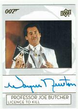 James Bond Collection Autograph Card A-WN Wayne Newton as Professor Joe Butcher