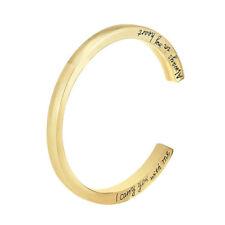 Memorial Urn Locket Jewelry Bracelet Wrist Bone Stainless Steel Hand Bangles