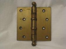 "antique McKinney ball tip hinge  4.5"" Pat.1925 mortise door hinge hardware part"