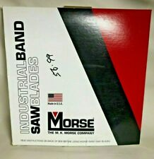 """Morse industrial band saw blades 3/4"""" 8` 9"""" Quik Silver Hef (1844041050) USA"""