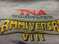 TNA Impact Wrestling 2010 Slammiversary VIII L (Large) Promotional Staff Shirt