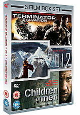 Very Good - 2012/Terminator Salvation/Children Of Men [DVD], DVD, John Billingsl