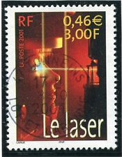 TIMBRE FRANCE OBLITERE N° 3424 SCIENCE LE LASER /