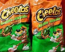 Cheetos Crunchy Jalapeno X2 LARGE Bag's 8oz/226g X2 UK Seller/ORIGINAL/CHEAPEST