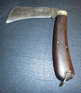 Vintage Leppington Cutlass Sheffield England Folding Pruning Knife
