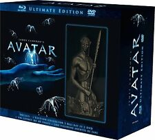 COFFRET Avatar-Ultimate Edition -3 BLU RAY + 3 DVD + 1 LIVRET 40 PAG + FIGURINE