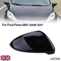 Left Gloss Black Wing Mirror Cover Cap Casing For VW Golf 7 MK7 2014-2018 UK