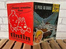 B++ // EO // LES AVENTURES DE LINE N°2 // LE PIEGE AU DIABLE // CUVELIER 1968