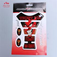 Tank Pad Carbon Stickers Decal Emblem fit for Honda CBR150R 250R 600RR CBR1000RR