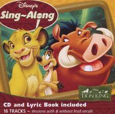Disneys SingaLong  The Lion King [CD]