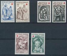 [16300] France art -red cross 3 good sets very fine MNH stamps