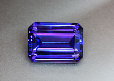 Huge Dazzling Octagon *Tanzanite* Loose Gemstone 5 Carats 10 x 8 mm AAAA