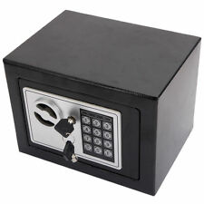 17E Digital Electronic Safe Box Keypad Lock Security Home Hotel Gun Cash Jewelry