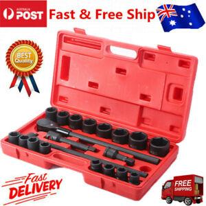 "21pcs socket set 3/4""Impact Socket Set Metric Extension Drive Bar 19-50mm"