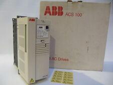 (NEW) ABB ACS100 1.5HP Inverter/AC Drive/VFD - ACS101-2K1-1