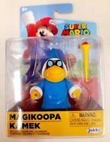 "Nintendo Super Mario Bros Jakks Pacific Wand Magikoopa Kamek 2.5"" Figure  New"