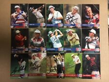 Autographed 1992 Pro Set Golf Card Lot(45 diff.) Orville Moody,Zoeller,Bean,etc