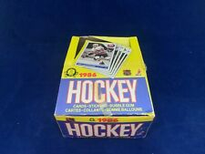 1985/86 OPC Mario Lemieux Rookie Complete Hockey Cards Empty Box A