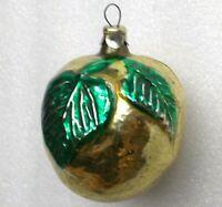 Antiker Russen Christbaumschmuck Glas Weihnachtsschmuck Ornament Apfel old Apple