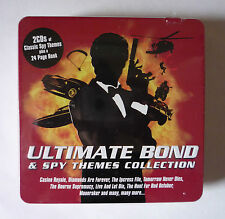 ULTIMATE BOND AND SPY THEMES COLLECTION 2 CD IN TIN