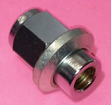 """16 Wolfrace wheelnuts wheel nuts sleevenuts M12x1.25 x41/64"""" (16.3mm) shank dia."""