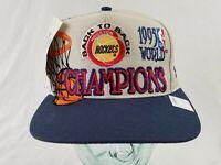 Houston Rockets Vintage 1995 NBA Champions Logo Athletic Snapback Cap Hat - NWT