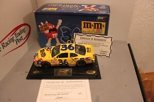 2000 Ken Schrader M&M's Keep Back New Driver 1/24 Revell Diecast Autographed