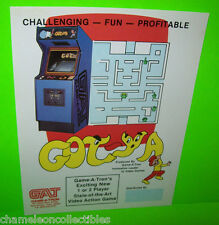 Game A Tron GOT-YA 1981 Original Video Arcade Game Promo Sales Flyer Advertising