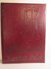 1946 Prickly Pear Annual, Abilene Christian College, TX., Wildcat, Banner Milk