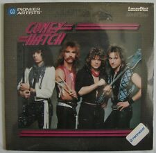 "CONEY HATCH  Canadian Rock Band  4 Music Videos  8"" inch size  Laserdisc NEW"