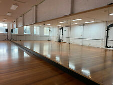 Large Gym/Dance Mirror 1800x1200mm (6mm Thick), Double Silver Backed Float Glass