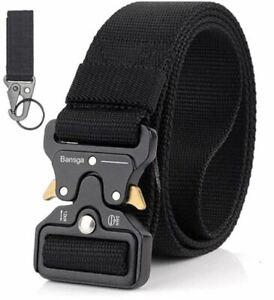Cintura per uomo in nylon resistente per caccia Tattica militare aggancio rapido