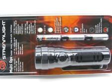 Streamlight Black Multi-Ops UV LED Flashlight Light w/ Red Laser Pointer 51072