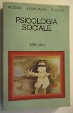 Doise Deschamps Mugny - PSICOLOGIA SOCIALE - ed. Zanichelli - 1980