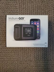 NEW Iridium GO! Satellite Phone WiFi Hotspot Kit