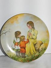 Mother's day Series By Gloria Ranck, Collector's Plate 3079/7500 Dated 1976