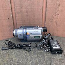 New ListingSony Handycam Dcr-Trv340 Digital 8 8mm Video8 Hi8 Camcorder Transfer Video